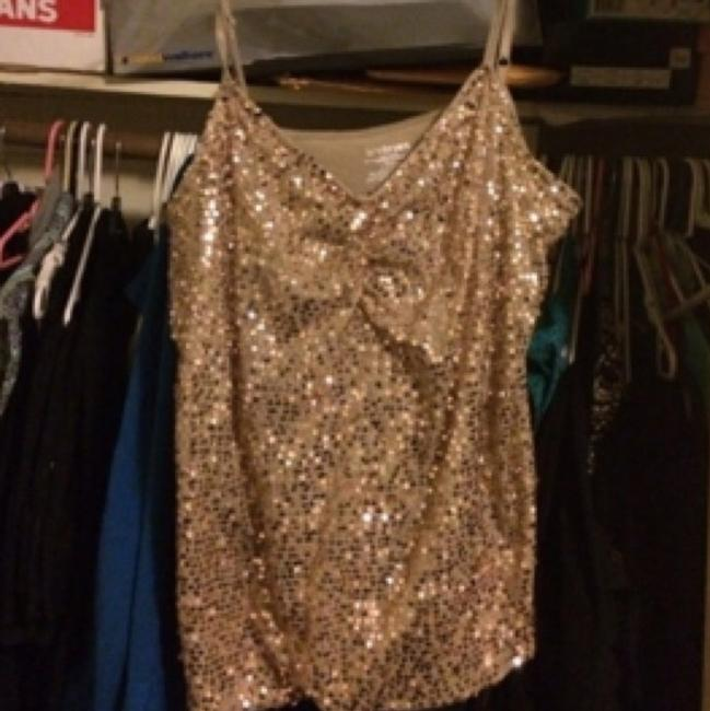 Gold sparkly top Top Gold