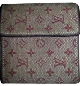 Louis Vuitton Louis Vuitton Trifold Wallet Mini Lin Wallet