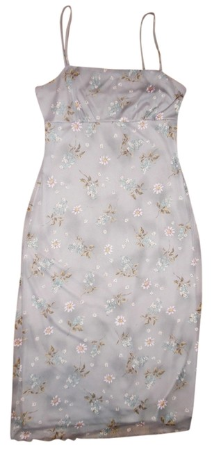 Necessary Objects Spaghetti Straps Polyester Flowers Dress