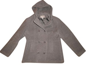 Croft & Barrow Double Breasted Hood Coat