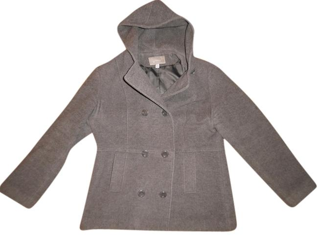 Preload https://img-static.tradesy.com/item/4922779/croft-and-barrow-gray-wool-blend-hooded-peacoat-size-16-xl-plus-0x-0-0-650-650.jpg