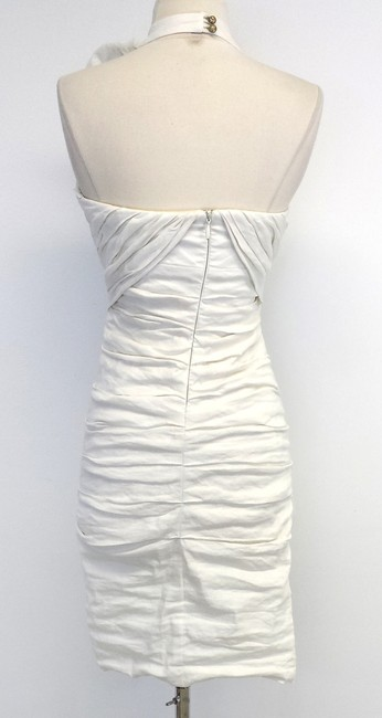 Nicole Miller short dress Cotton Blend Ruched on Tradesy