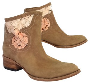 Free Bird Crochet Leather Boots