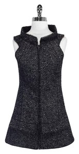 Chanel short dress Tweed Wool Blend Sleeveless on Tradesy