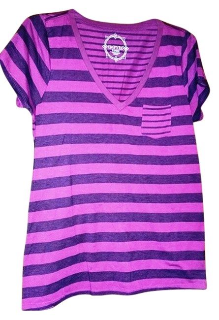 Zumiez T Shirt Purple & Black