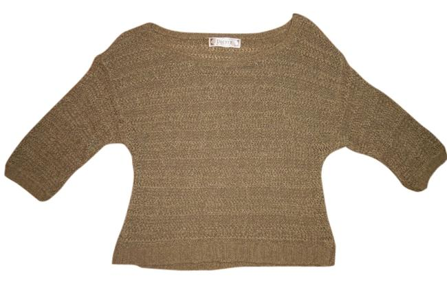 Preload https://item1.tradesy.com/images/decree-beigeolive-beigeolive-loose-knit-cropped-sweaterpullover-size-8-m-4924225-0-0.jpg?width=400&height=650