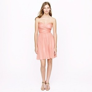 J.Crew Bright Coral Arabelle Dress