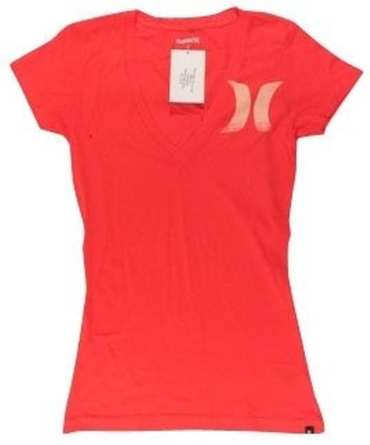 Hurley T Shirt Orange