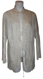 J. Jill Line Linen Lace natural Jacket