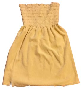 Juicy Couture short dress Yellow Tube Top on Tradesy