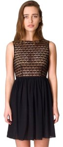 American Apparel short dress Black on Tradesy