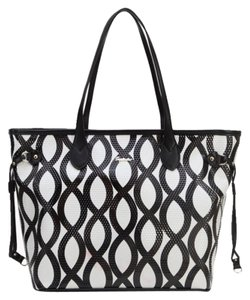 Sapsucker Tote in Black & White