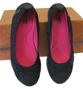 Champion New Size 7.50 Cushioned Footbed black Flats