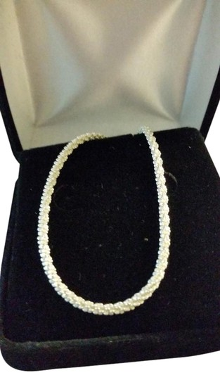 """Other 24"""" Sterling Silver Rope Chain with lobster clasp. Made in Italy."""
