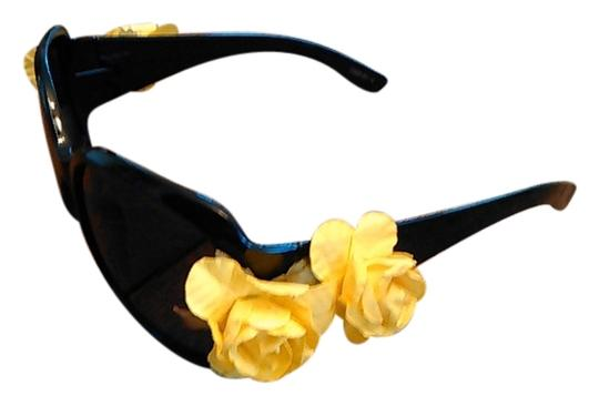 Preload https://item5.tradesy.com/images/yellow-rose-embellished-black-sunglasses-4939684-0-0.jpg?width=440&height=440