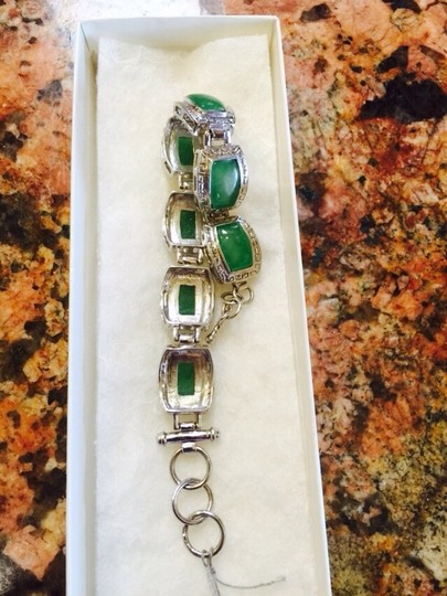 Silver and Jade Silver and Jade bracelet