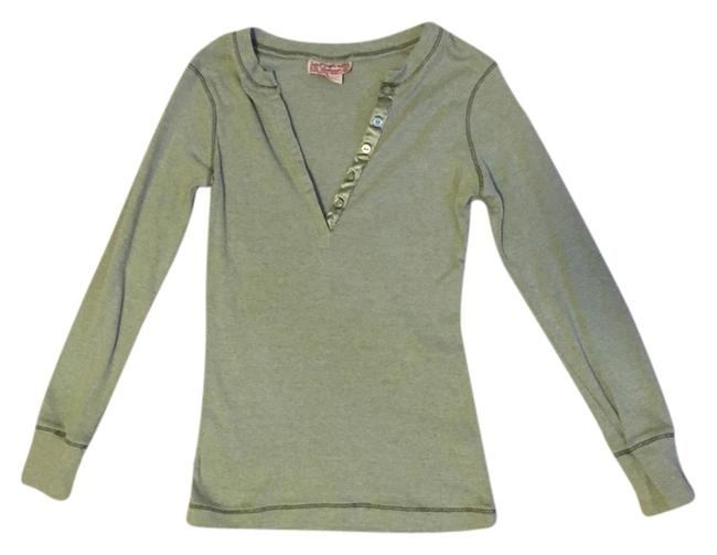 Other Henley Casual Top Green