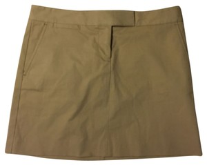 J.Crew Mini Skirt Beige