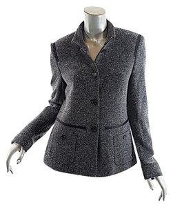 René Lezard Black tweed Blazer