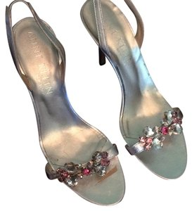 Anne Klein Silver Metallic Formal