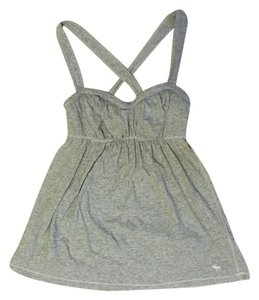 abercrombie kids Casual Preppy Summer Spring Top Gray