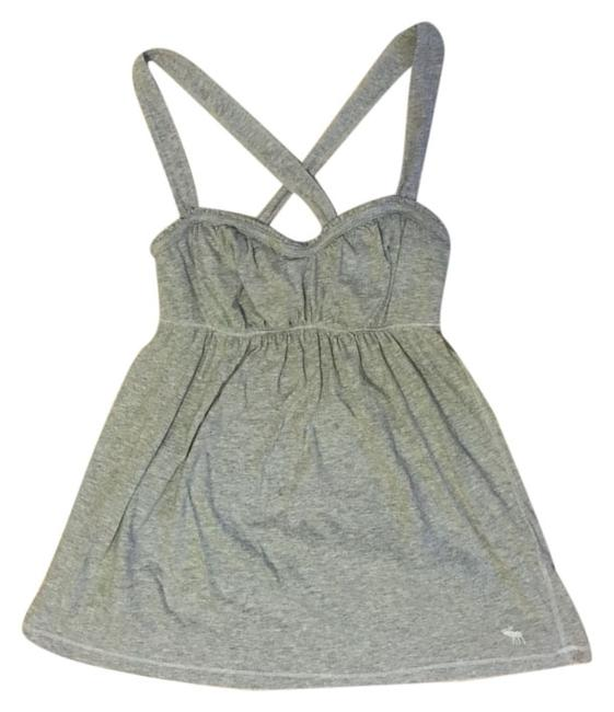 abercrombie kids Casual Preppy Summer Spring Trendy Top Gray