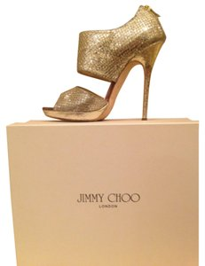 Jimmy Choo irridicent Platforms