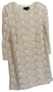 Forever 21 short dress Cream Lace Short on Tradesy
