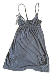 abercrombie kids short dress Gray Bow Cute Preppy Trendy on Tradesy