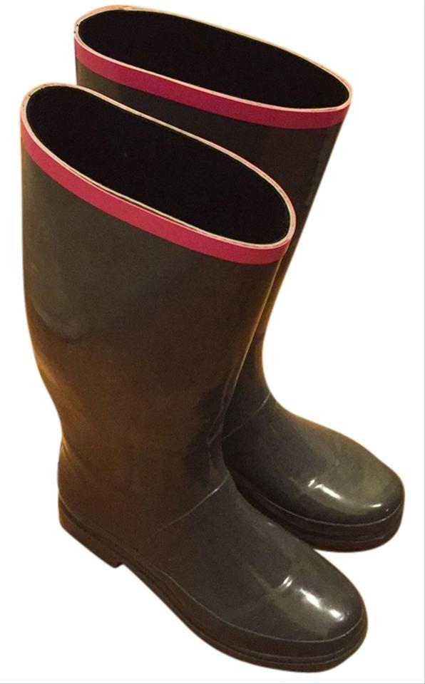 WOMEN Marc Consumers Jacobs Gray/Pink Rain Boots/Booties Consumers Marc first 1c59b0