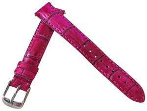 Michele Size 16mm NWT Michele Sea Pink Alligator Watch Straps MS16AA510517