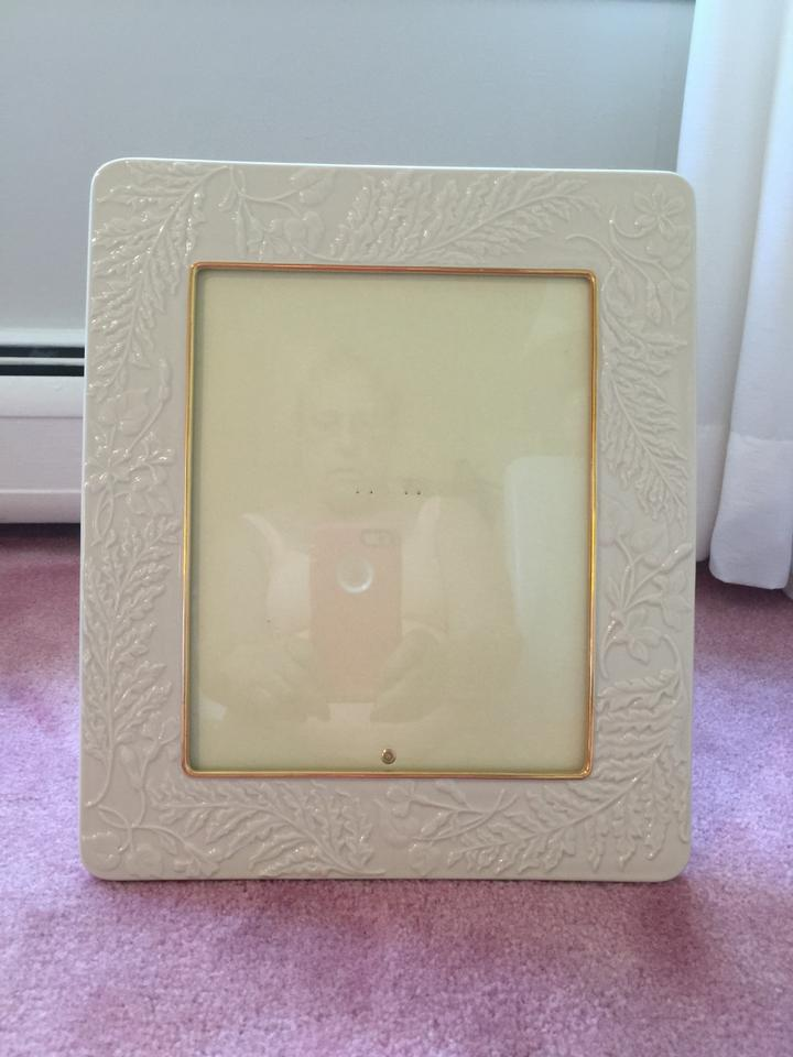 Ivory with Gold Trim New: Perfect Condition-- Lenox Picture Photo ...