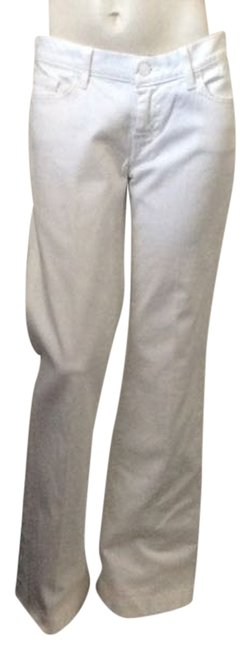7 For All Mankind Wide Leg Pants White