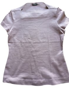 Kate Spade Saturday Slip Neck T Shirt Lavender