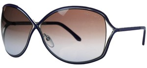 Tom Ford Tom Ford Blue/Silver Oval Sunglasses