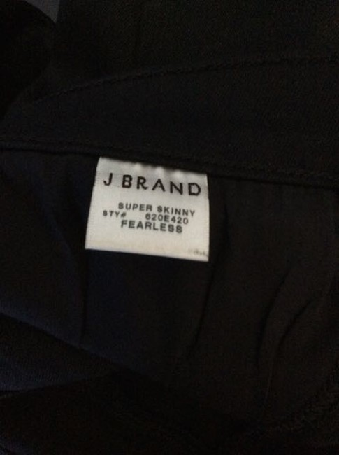 J Brand Skinny Jeans-Coated Image 3