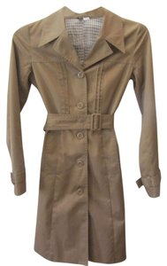 H&M Belted Trenchcoat Brown Jacket