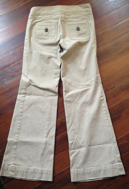 Anthropologie Flare Pants Tan