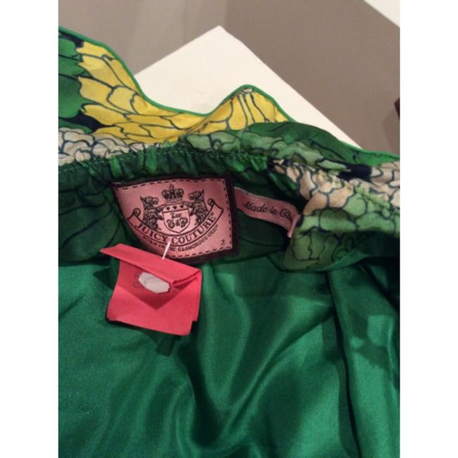 Juicy Couture short dress Green & Yellow & bone on Tradesy