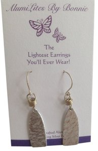 Bonnieart Petite Dangly Silver Aluminum Earrings