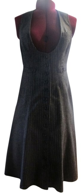 Preload https://item2.tradesy.com/images/nanette-lepore-gray-mid-length-night-out-dress-size-2-xs-4944091-0-0.jpg?width=400&height=650