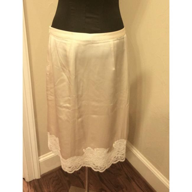 Banana Republic Skirt Cream Image 4