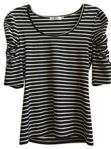 MINKPINK T Shirt Black/White