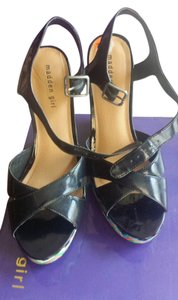 Madden Girl Steve Madden Black patent leather Platforms