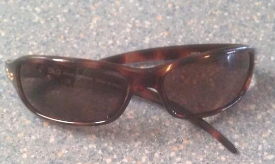 Dolce&Gabbana Dolce & Gabbana Authentic Curved Tortoise Sunglasses Made in Italy Quality