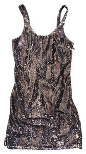 Silence + Noise Sequin Sparkle Night Out Dress