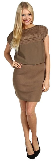 Preload https://img-static.tradesy.com/item/4945018/vince-camuto-tan-above-knee-night-out-dress-size-4-s-0-0-650-650.jpg