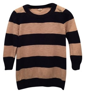 J.Crew Tippi Crewneck Cotton Stripes Sweater