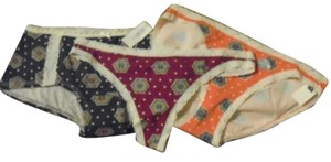 Gap Bundle GapBody Paisley Panties, Thong, Bikini, Shorty XS NWT $35