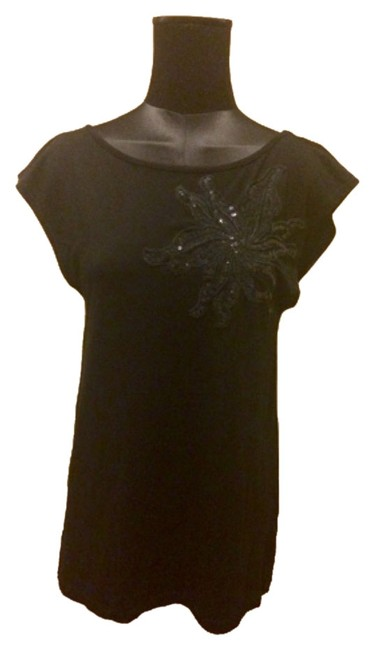 Preload https://item3.tradesy.com/images/h-and-m-black-sequins-shirt-blouse-size-4-s-4945822-0-0.jpg?width=400&height=650